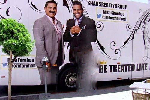 Reza & Mike from Shahs of Sunset