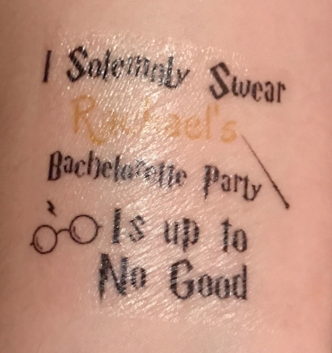 I Solemnly Swear Rachel's Bachelorette Party Is Up To No Good.